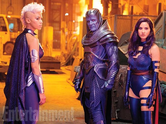 Apocalypse, Storm and Psylocke