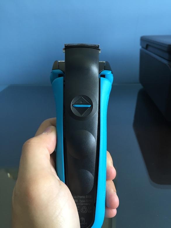 4 Long hair trimmer unlocked