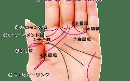 手のひらの環紋