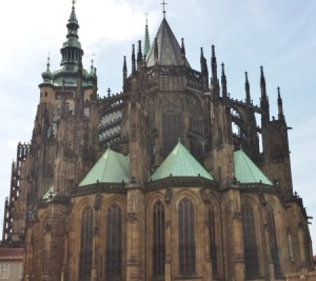 St. Vitus Cathedral, from the East