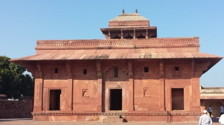 Home of Maryam, Akbar's Christian Wife, Fatehpur Sikri
