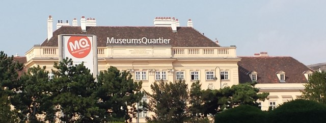 MuseumsQuartier and Gelateria Hoher Markt on Day Two in Vienna