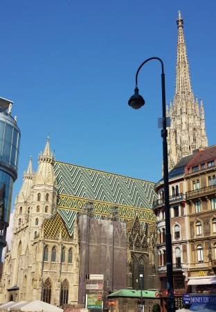Stephansdom and Cafe Landtmann on Day One in Vienna
