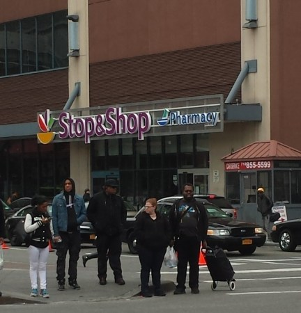 Stop and Shop in the Atlantic Center