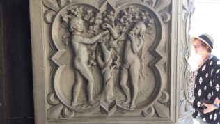 Adam and Eve Eating the Fruit from the Tree