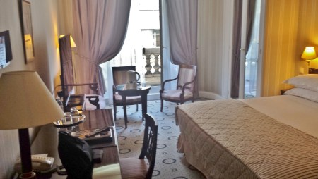Our Room at the Astor St-Honore Hotel