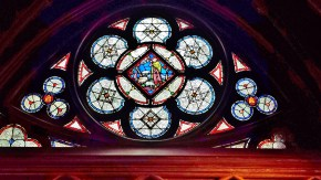 Stained Glass Window(1) of Lower Chapel