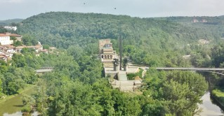 The View of Asen's Monument from Our Seat in Shtastliveca