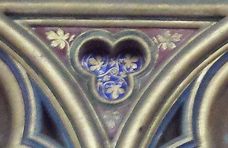 Trefoil Decoration of Lower Chapel
