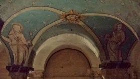 Bayeux Cathedral Crypt Ceiling