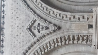 Bayeux Cathedral Romanesque Ornament 5