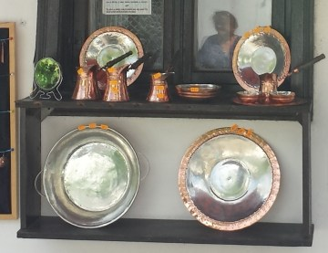 Hand-Hammered Copperwares