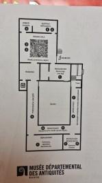 Rouen Antiquities Museum Floor Plan