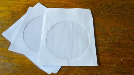 CD paper cases