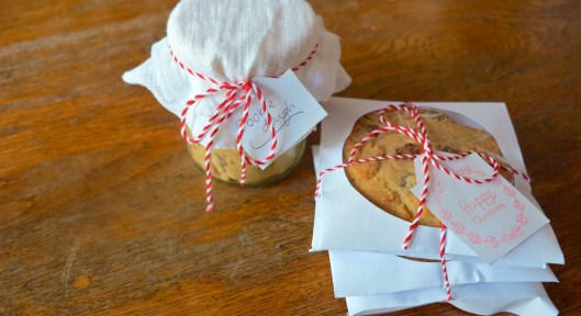cookies and cookie dough packaging christmas