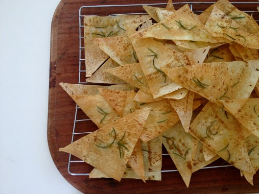 rosemary & garlic chips