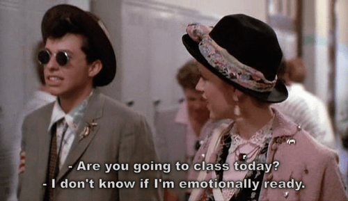 pretty in pink duckie quote