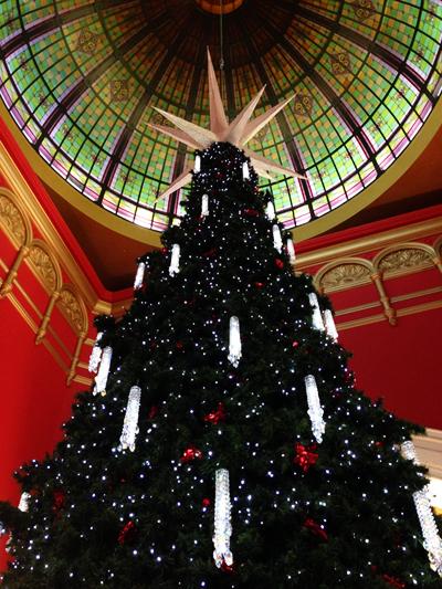 Queen Victoria Building Sydney Christmas Decorations