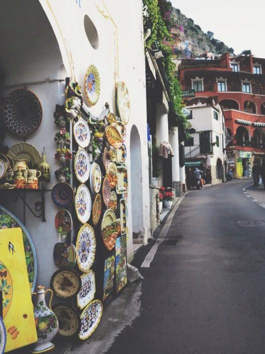 ceramic galore along the Amalfi a.k.a heavveenn