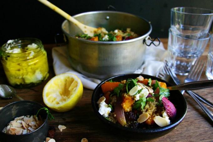 Moroccan Pumpkin Quinoa Salad