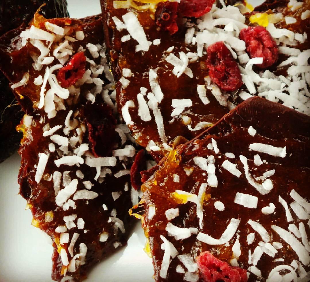 Sweet and Spicy Island Mango Chocolate Bark