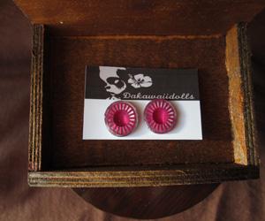 Custom Blythe Eye-chip Pink and Shine Silver EC-20A