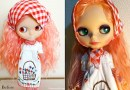 "Custom Blythe "" Marie"" to Re-Customize"