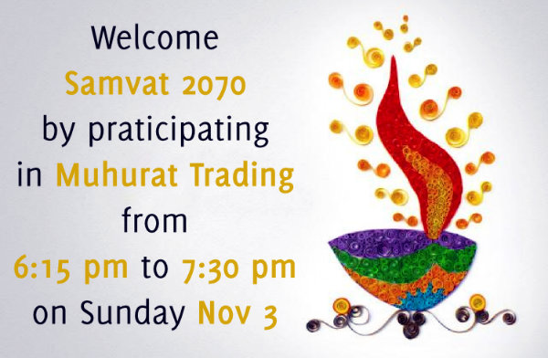 Muhurat Trading Session
