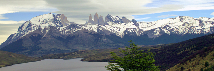 The Towers, Patagonia, Chile. Copyright Donnelle Oxley