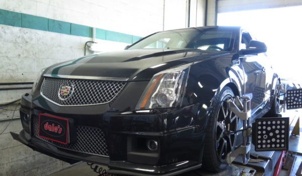 Cadillac CTS-V getting new Eibach Pro-kit coilsprings