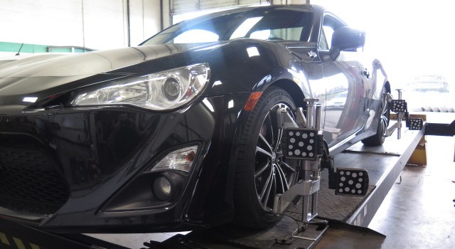 Scion FRS Perrin, Whiteline handling package installed at Dales Auto Service