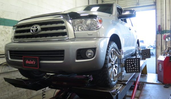 '13 Toyota Sequoia gets new BFG AT KO2 and rear airbags at Dales Auto Service