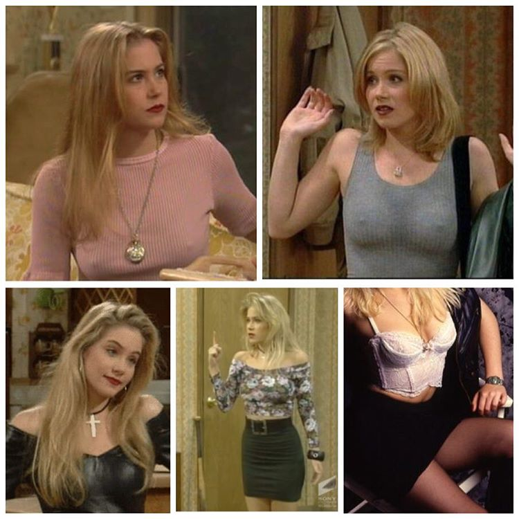 I seriously think Kelly Bundy is the Muse for todayshellip