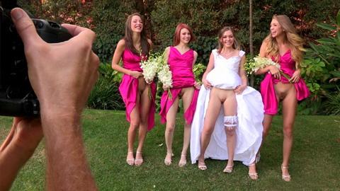 hot bride oops