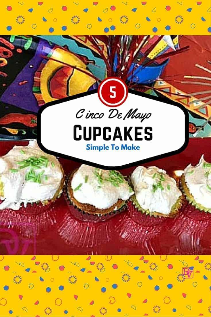Easy To Make Cinco De Mayo Cupcakes