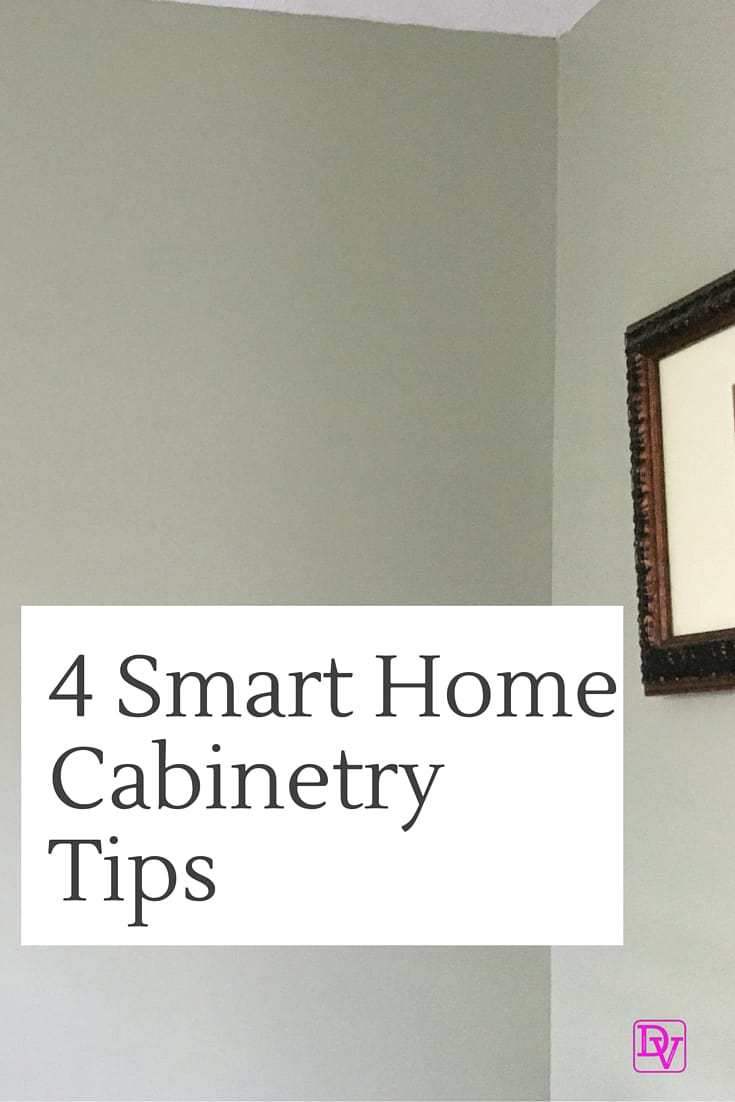 4 Smart Home Cabinetry Tips