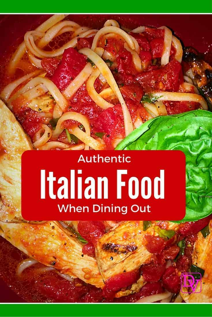 Where to find authentic italian cuisine when dining out for Authentic cuisine