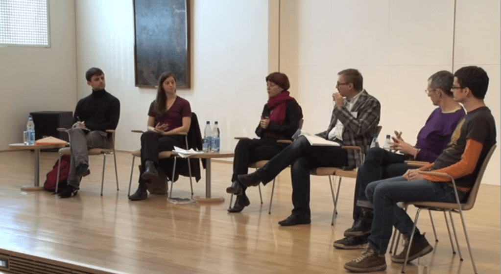 PANEL DISCUSSION: Sasa Asentic, Xavier Le Roy, Liz Waterhouse and members of ID Frankfurt