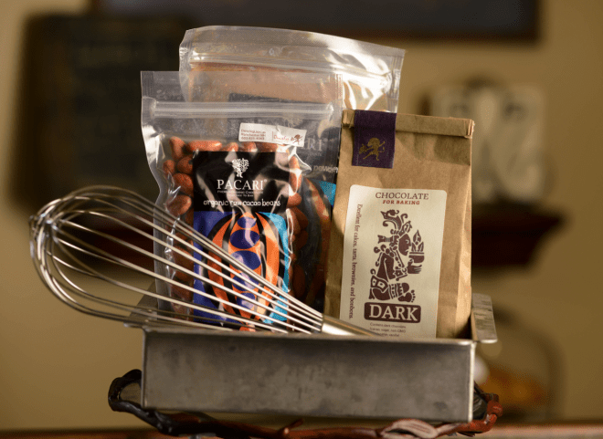 Baking with Dancing Lion Chocolate