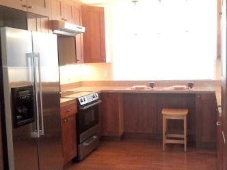 For rent! Kitchen overlooking Elm Street