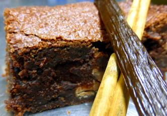 Spiced Zen Brownie