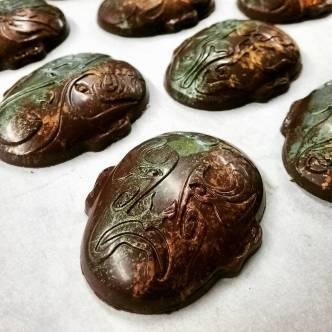 Finger Limes?-: brilliant finger limes in tangy Madagascar chocolate