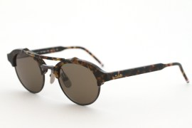 Thom Browne TB 700 Sunglasses in tortoise
