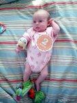 Abigail at 2 Months