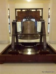 A replica of the Liberty Bell.