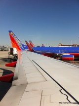 Southwest Airlines at LAS (Las Vegas, NV).