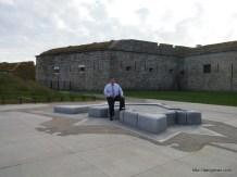 Doing a Schoonover at Fort Adams in Newport, RI.