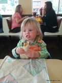 Abigail loves her beanies.