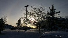 Beatiuful morning in Montana.
