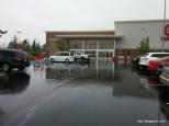 Our first Oregon rain!